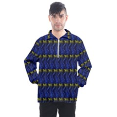 Blue Illusion Men s Half Zip Pullover