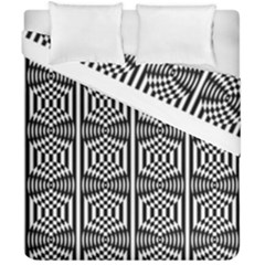 Optical Illusion Duvet Cover Double Side (california King Size) by Sparkle