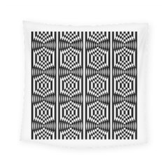 Optical Illusion Square Tapestry (small)