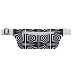 Optical Illusion Active Waist Bag