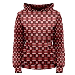 Red Kalider Women s Pullover Hoodie by Sparkle