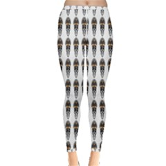 Skull Police Inside Out Leggings