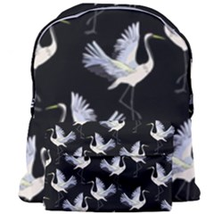 Crane Pattern Giant Full Print Backpack