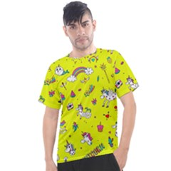 Pattern Unicorns Mermaids Horses Girlish Things Men s Sport Top by Wegoenart
