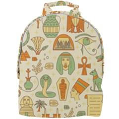 Egypt Seamless Pattern Mini Full Print Backpack