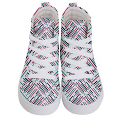 Abstract Colorful Pattern Background Kids  Hi Top Skate Sneakers