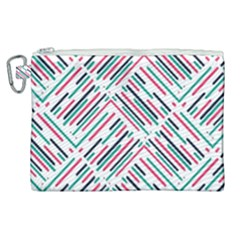 Abstract Colorful Pattern Background Canvas Cosmetic Bag (xl) by Wegoenart