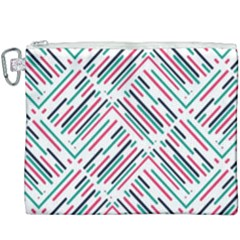 Abstract Colorful Pattern Background Canvas Cosmetic Bag (xxxl)