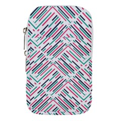 Abstract Colorful Pattern Background Waist Pouch (small)