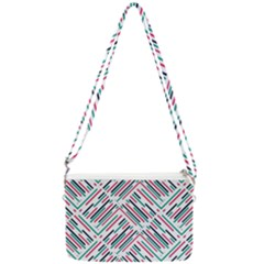 Abstract Colorful Pattern Background Double Gusset Crossbody Bag