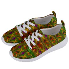 Sakura Blossoms Popart Women s Lightweight Sports Shoes by pepitasart