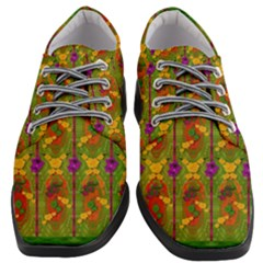 Sakura Blossoms Popart Women Heeled Oxford Shoes by pepitasart