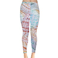 Spots Waves Inside Out Leggings