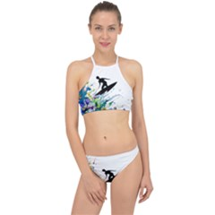 Nature Surfing Racer Front Bikini Set by Sparkle