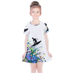 Nature Surfing Kids  Simple Cotton Dress