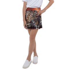 Nature With Tiger Kids  Tennis Skirt