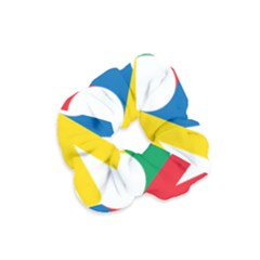 Logo Of Deaflympics Velvet Scrunchie by abbeyz71
