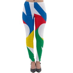 Logo Of Deaflympics Lightweight Velour Leggings