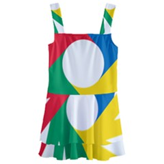 Logo Of Deaflympics Kids  Layered Skirt Swimsuit by abbeyz71