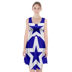 Logo Of League Of Nations Racerback Midi Dress