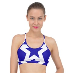 Logo Of League Of Nations Basic Training Sports Bra