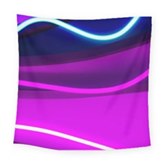 Neon Wonder  Square Tapestry (large)