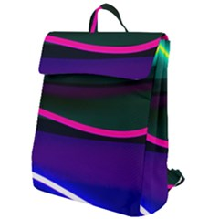 Neon Wonder Flap Top Backpack