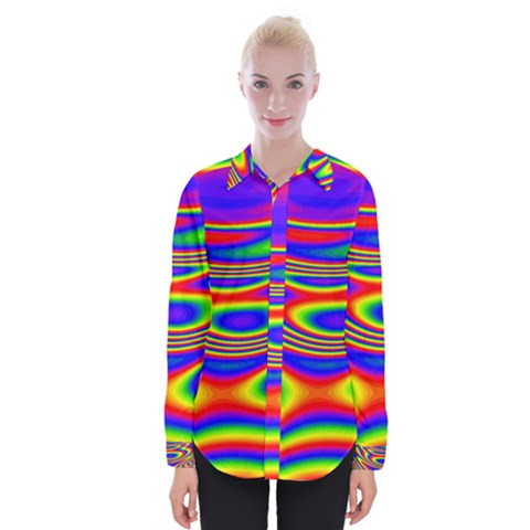 Rainbow Womens Long Sleeve Shirt by Sparkle