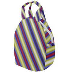 Colorful Strips Travel Backpacks by Sparkle