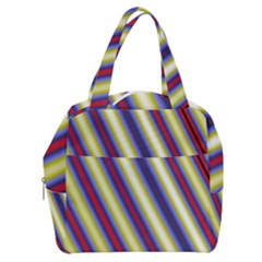 Colorful Strips Boxy Hand Bag by Sparkle