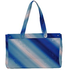 Blue White Canvas Work Bag by Sparkle