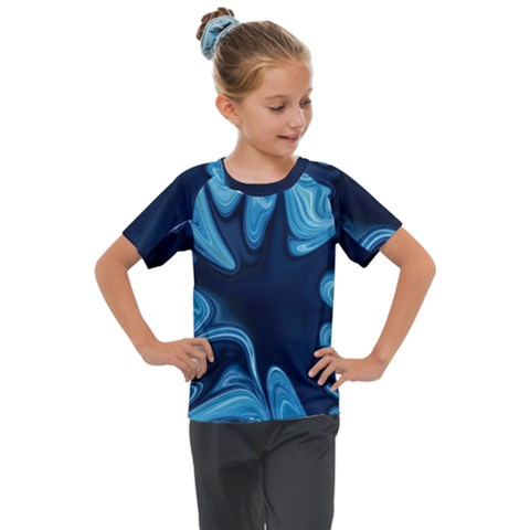 Sea Wrap Kids  Mesh Piece Tee by Sparkle