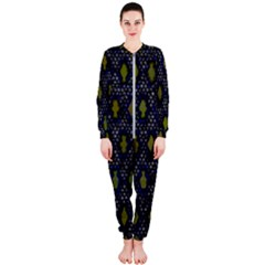 Color Abstract Cartoon Onepiece Jumpsuit (ladies)  by Sparkle