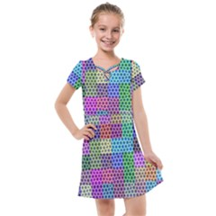 Blocks Stars Kids  Cross Web Dress