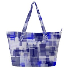 Blockify Full Print Shoulder Bag