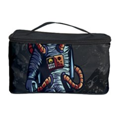 Illustration Drunk Astronaut Cosmetic Storage by Vaneshart