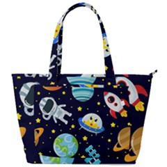 Space Seamless Pattern Back Pocket Shoulder Bag  by Vaneshart