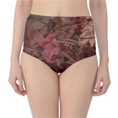 Twine In Bloom Classic High-waist Bikini Bottoms