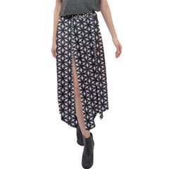Kettukas Bw #38 Velour Split Maxi Skirt
