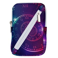 Time Machine Belt Pouch Bag (large) by Vaneshart