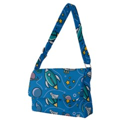 About Space Seamless Pattern Full Print Messenger Bag (m)