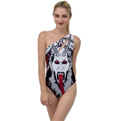 Krampus To One Side Swimsuit