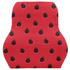 Seamless Watermelon Surface Texture Car Seat Back Cushion