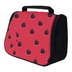 Seamless Watermelon Surface Texture Full Print Travel Pouch (small)