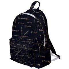 Abstract Math Pattern The Plain Backpack