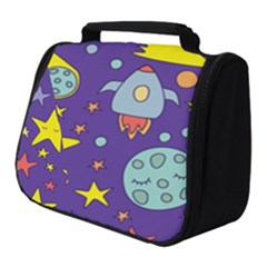 Card With Lovely Planets Full Print Travel Pouch (small)