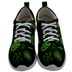 Bacteria Virus Seamless Pattern Inversion Mens Athletic Shoes by Vaneshart