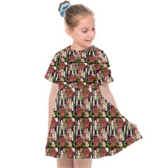 Swimmer 20s Black Kids  Sailor Dress by snowwhitegirl