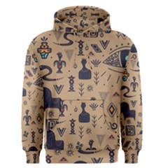 Vintage Tribal Seamless Pattern With Ethnic Motifs Men s Core Hoodie