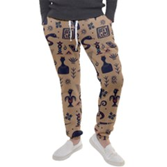 Vintage Tribal Seamless Pattern With Ethnic Motifs Men s Jogger Sweatpants